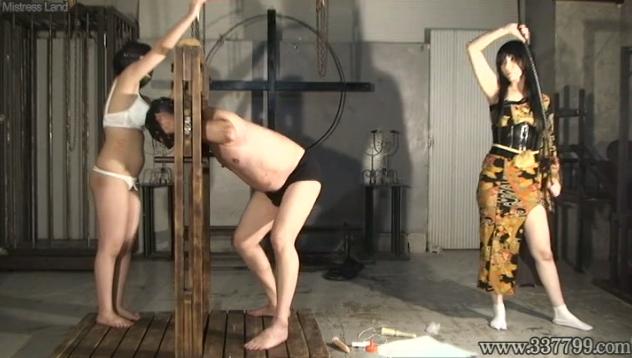 鏡華女王様 M男 調教 ミストレスランド BDSM 鞭 アナル