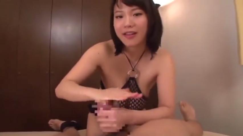 M男動画 手コキフェラ 顔面騎乗 強制クンニ 爆乳痴女 渋谷果歩