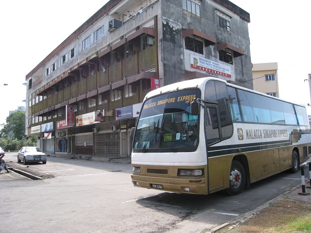 マラッカ 旧バスターミナル