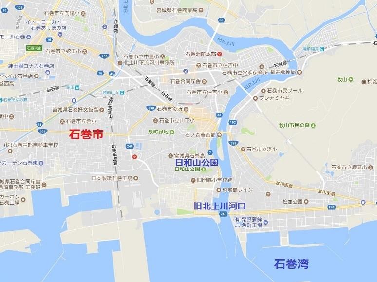 地図石巻市