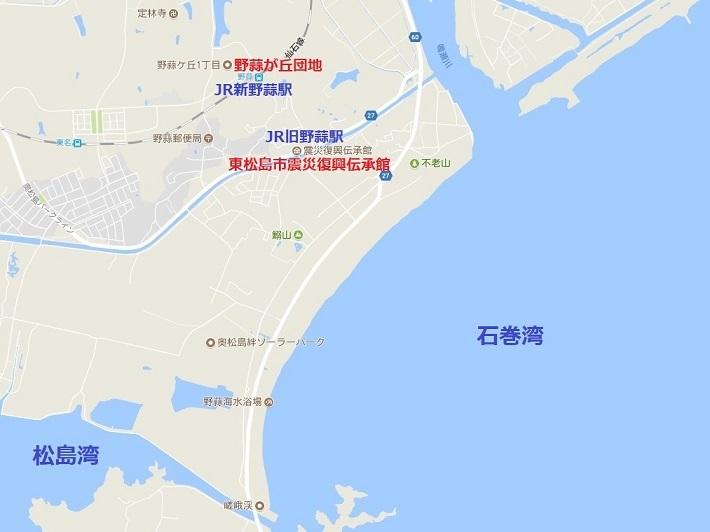 地図東松島市