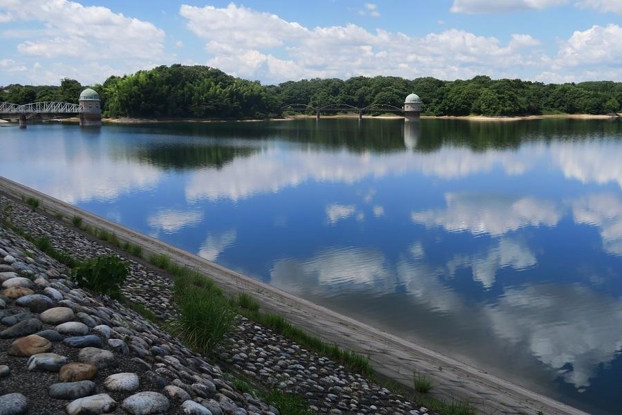 村山貯水池20180802