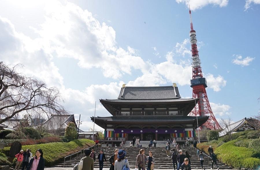 増上寺201801