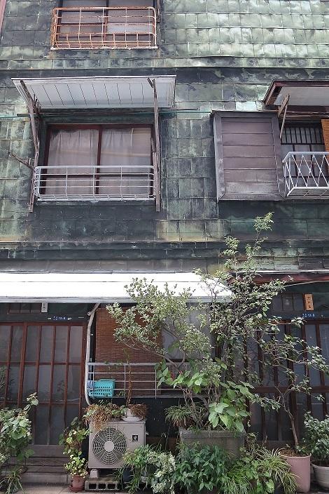 築地銅板貼り建築1