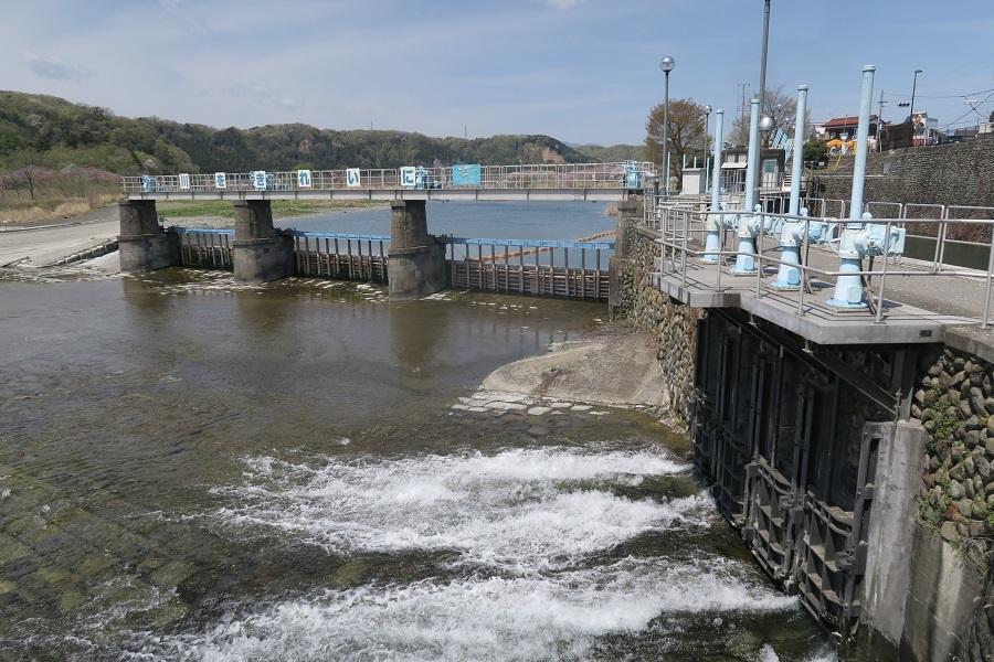 玉川上水取水口