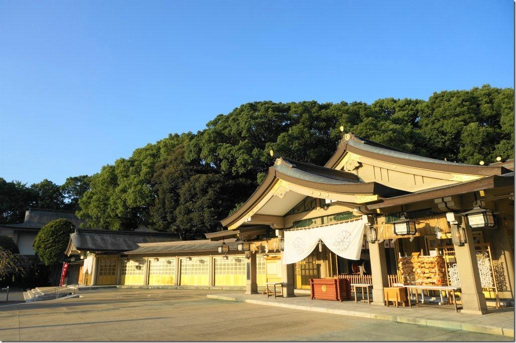 福岡縣護国神社 福岡城址 大濠公園 TOKYOBIKE シーサイドももち海浜公園