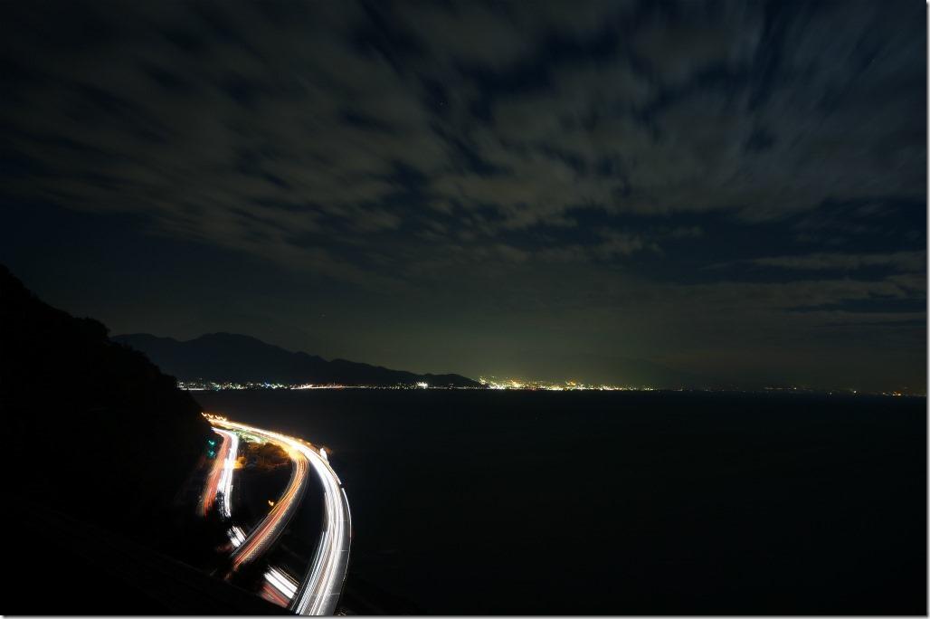 薩埵峠 さったとうげ さった峠 夜景 富士山 駐車場
