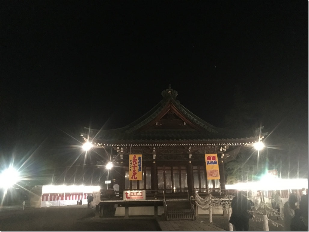 三嶋大社 元旦 初詣
