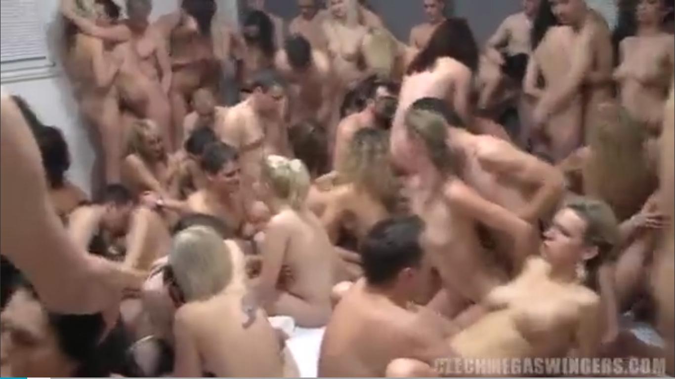チェコ人たちの大乱交パーティ