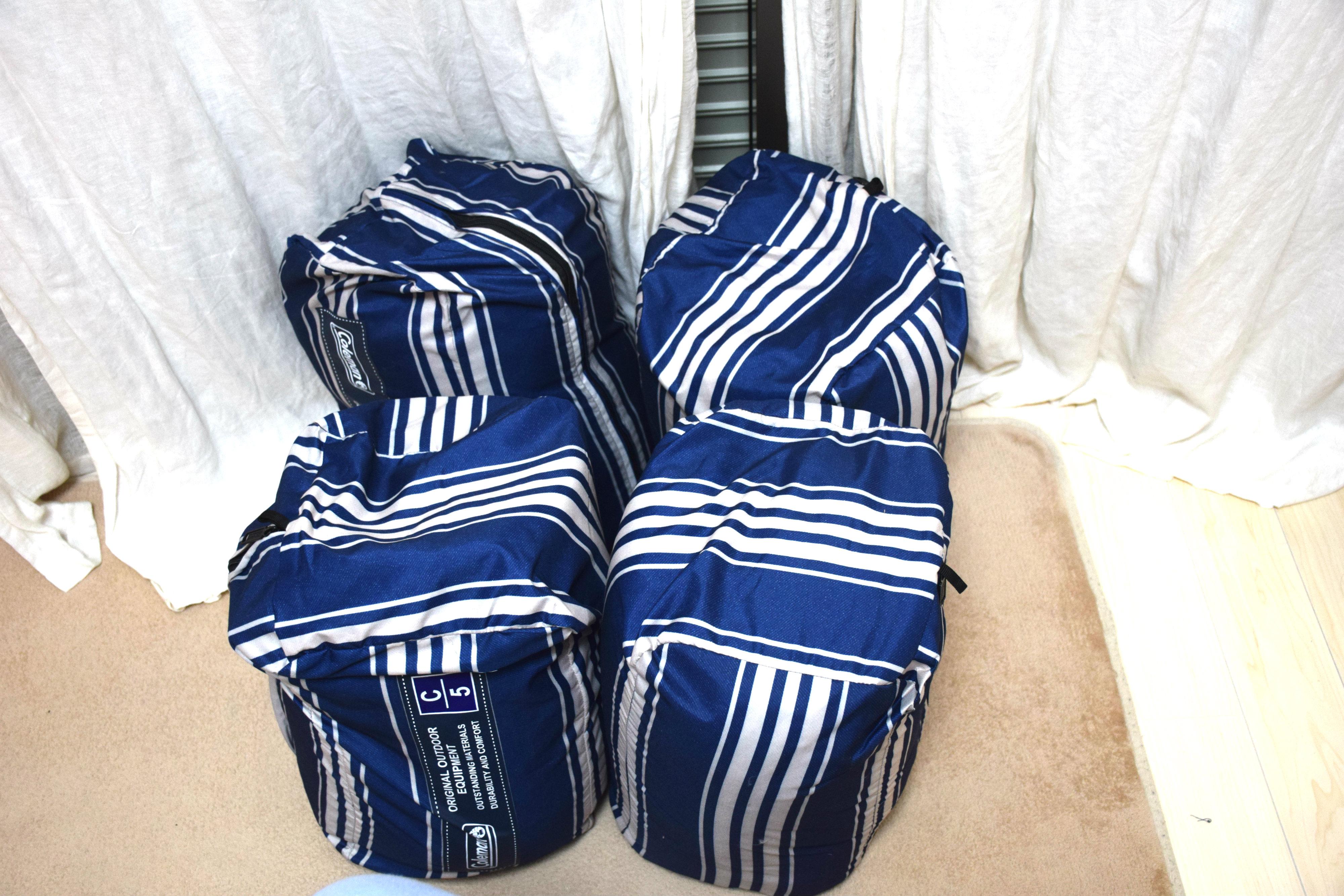 手動ポンプ付きの圧縮袋で寝袋の収納が簡単に6