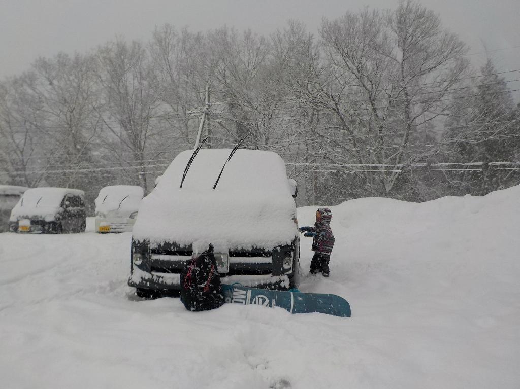 アップかんなべに行ったら豪雪に見舞われた2