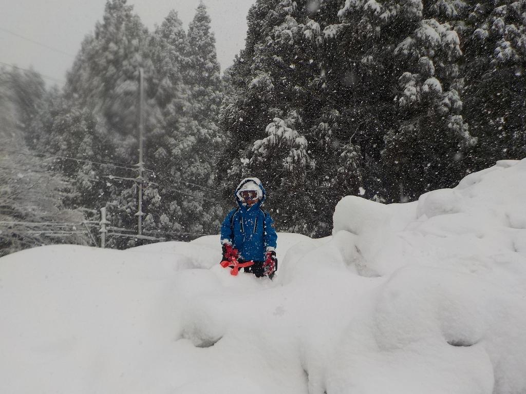 アップかんなべに行ったら豪雪に見舞われた4