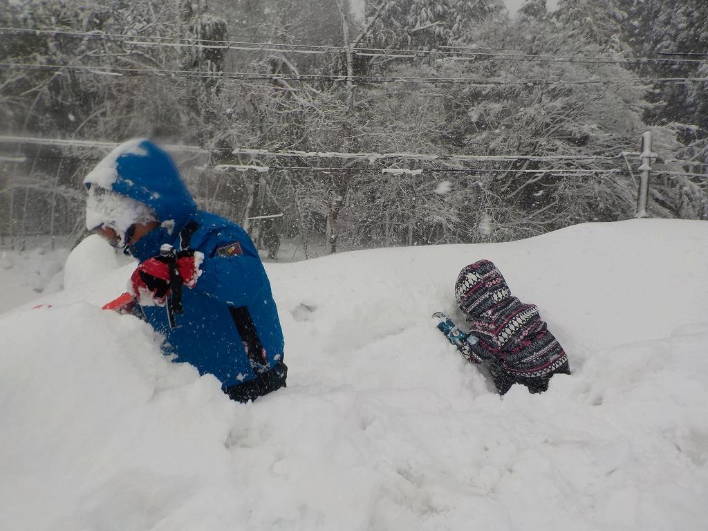 アップかんなべに行ったら豪雪に見舞われた5