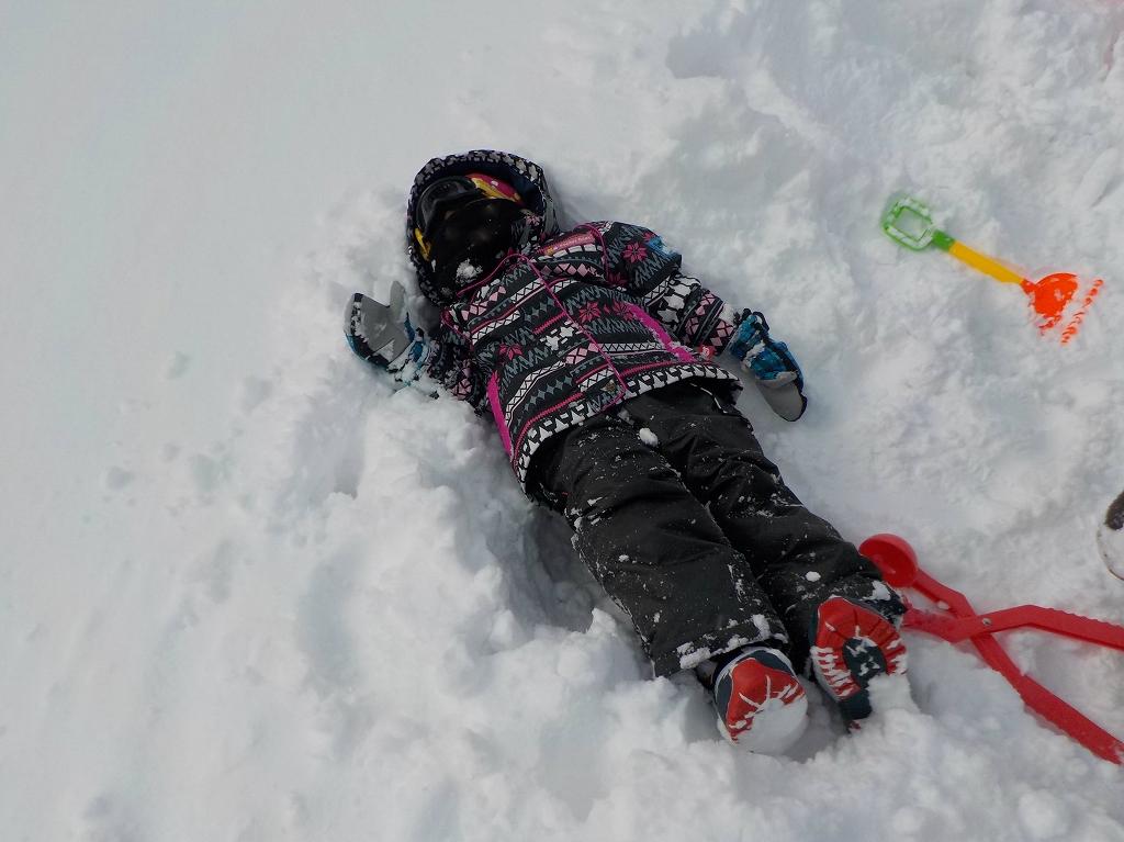 アップかんなべに行ったら豪雪に見舞われた7