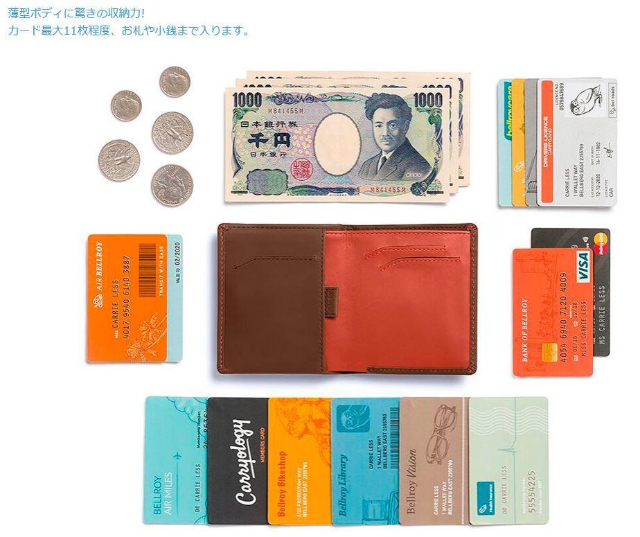 薄くて小さい財布が欲しくて・・・