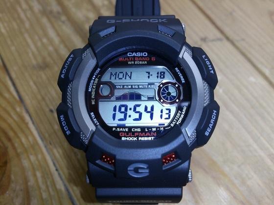 釣りに最適な腕時計! ~G-SHOCK GULFMAN~