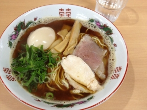 丸山商店醤油ラーメン20180415