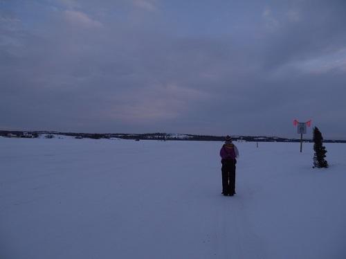 湖の上歩き (7)