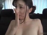 長谷川栞 これ以上ないくらい清楚で美人な奥様がカーセックスで見せた淫らな姿にはフル勃起間違い無し