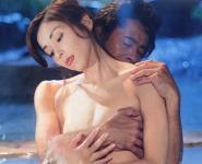 川島なお美(女優濡れ場)映画「失楽園」で全裸乳首出し古谷一行と濃厚セックスシーンを披露