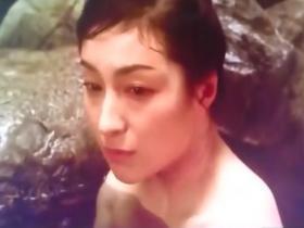 【濡れ場】広末涼子 混浴露天風呂で全裸濃厚キス