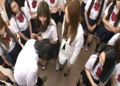 女子校生のペニバン