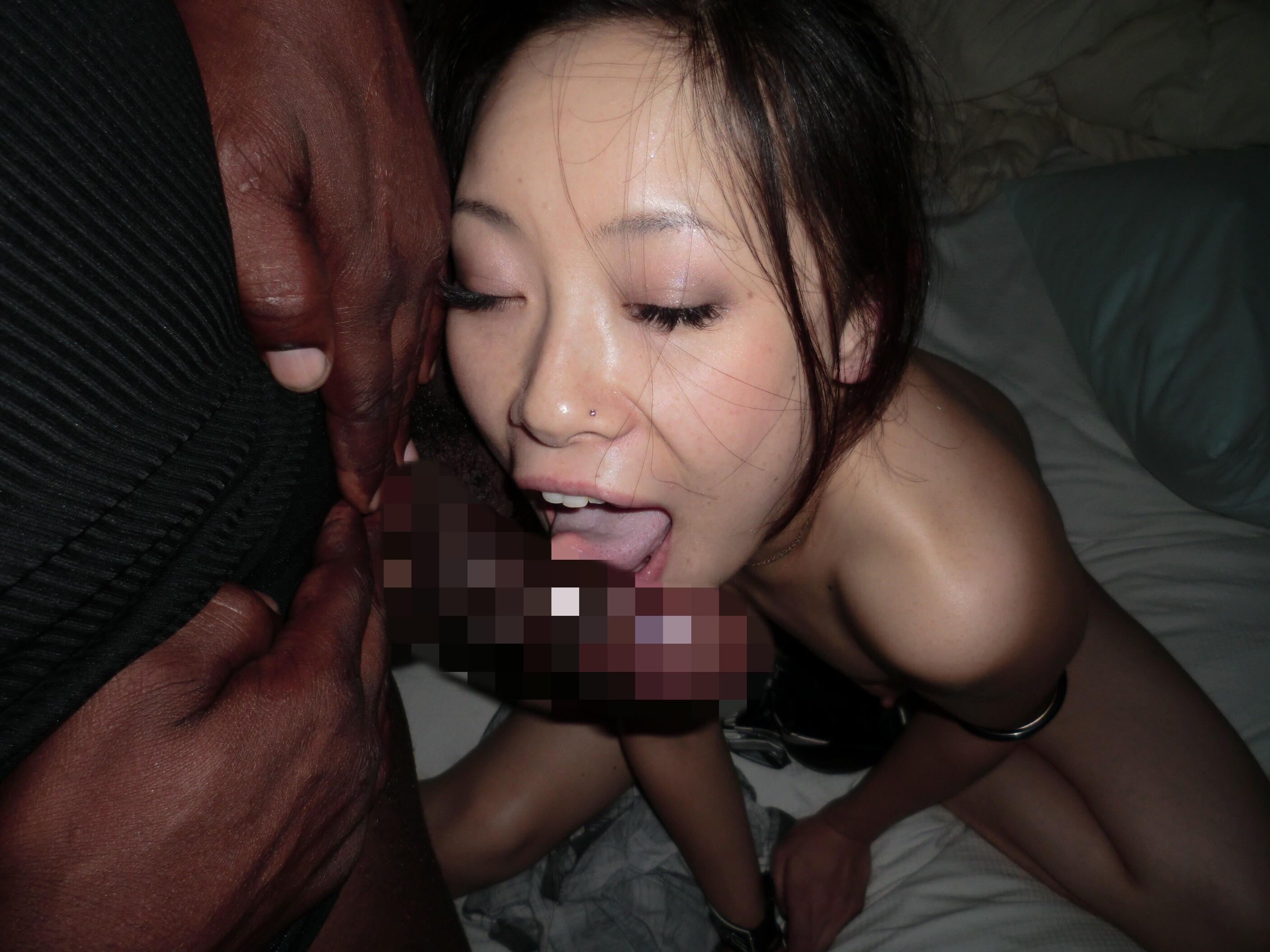 Watch Tiny Asian Destroyed By Huge Black Guy