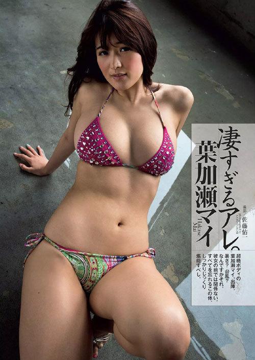 葉加瀬マイのGカップ完熟美巨乳おっぱい47