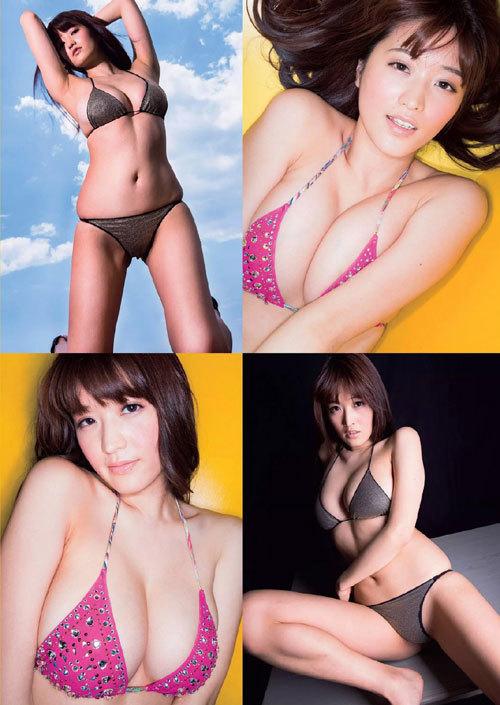 葉加瀬マイのGカップ完熟美巨乳おっぱい48