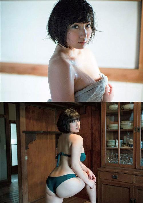 紗綾のまだまだ成長途上の巨乳おっぱい9