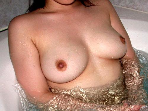 寒いから一緒にお風呂に入っておっぱい揉みたい
