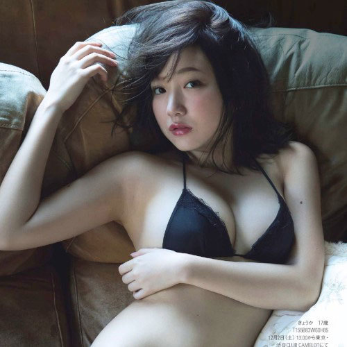「夢みるアドレセンス」京佳 18歳のSEXY解禁!□リ巨乳Fカップ グラビア