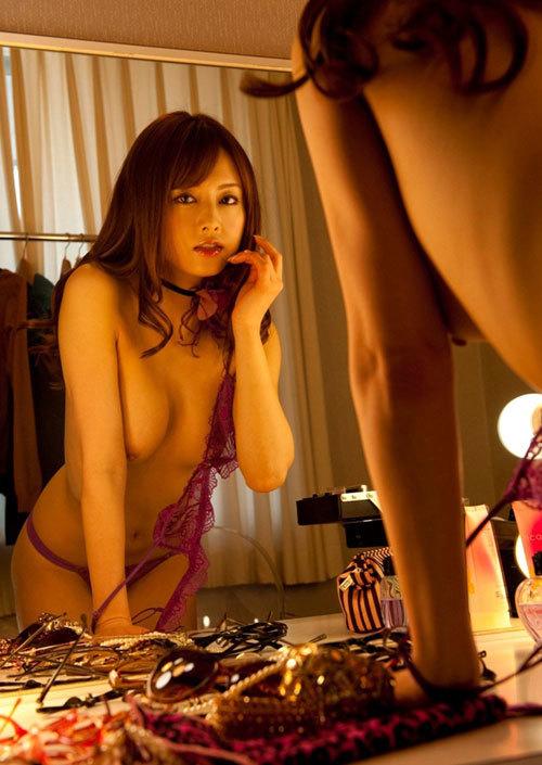 鏡に映るおっぱいと生のおっぱいどっちも好き6