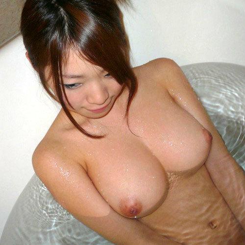 お風呂にはいってお乳揉めたら幸せなキモチになる入浴えろ写真