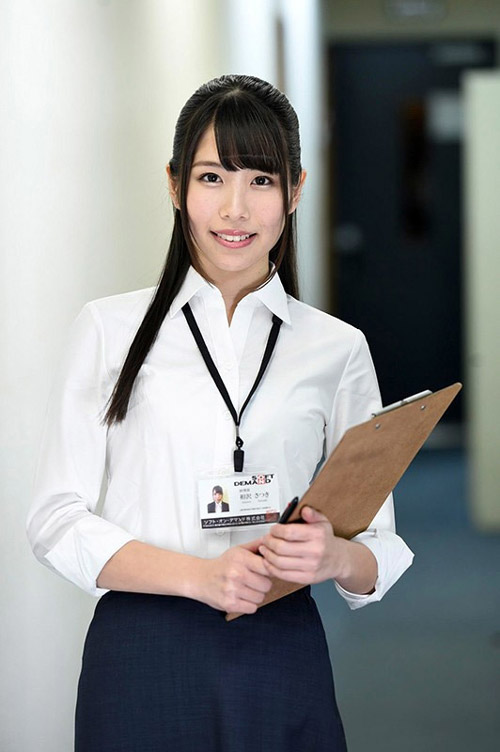 SOD女子社員・相沢さつきAVデビュー