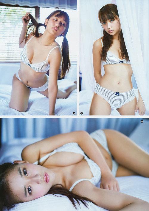 浅川梨奈の1000年に1度の童顔巨乳おっぱい41