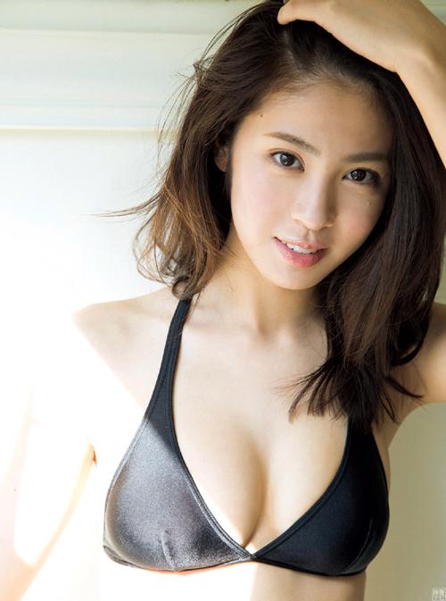 超大型新人アイドル澤北るな(19)の豊か過ぎる胸。