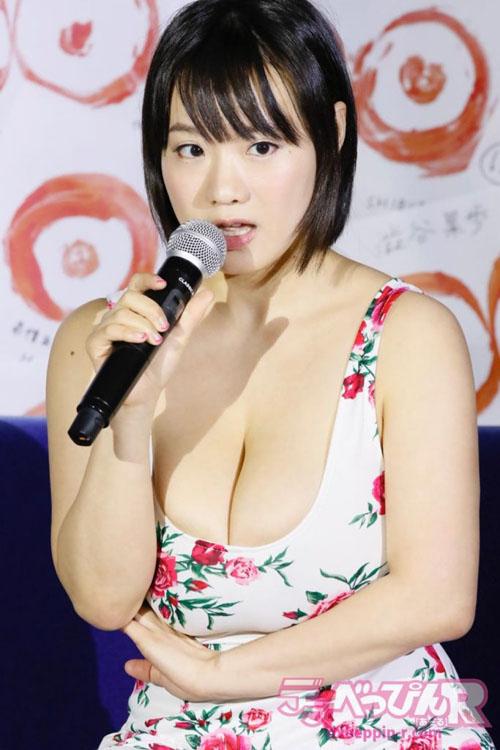 【画像】Kカップ爆乳でTOEIC990点のAV女優・澁谷果歩さん、引退する