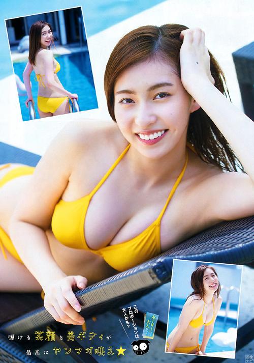 ハロプロ歴代最強クラスの美少女 植村あかり(19)のグラビア画像×49