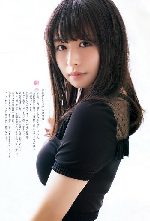 欅坂46 長濱ねる(19)のおっぱいがデカい