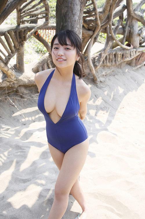 大原優乃ビキニからはみ出すムチムチおっぱい22