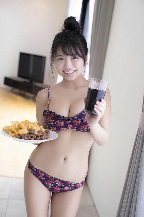 大原優乃ビキニからはみ出すムチムチおっぱい100