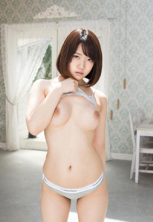 菊川みつ葉のFカップ巨乳輪おっぱい76