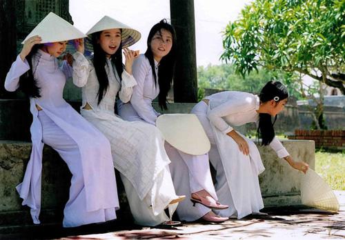 アオザイのベトナム美女が美しすぎて・・・・・世界一セクシーな民族衣装 画像54枚