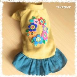 お花刺繍 2