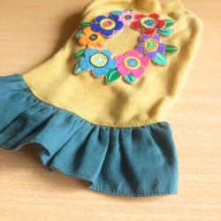 お花刺繍 5