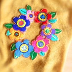 お花刺繍 3