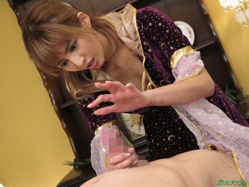 麻生希 - 脱・童貞!幸運を招く美女占い師 10