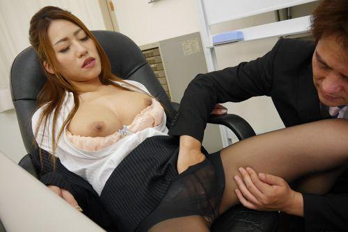 北山かんな - 美人痴女上司とオフィスで二人きり 09
