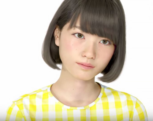 本物の女は必要ない?!3D女子校生sayaちゃん『ミスID』に出場www